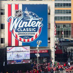 2015 Winter Classic Sign