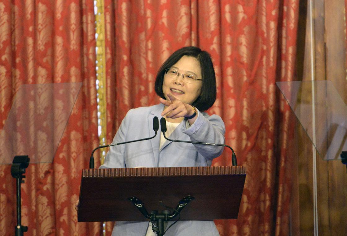 Taiwan's leader