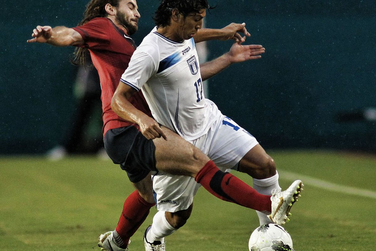Possibly one of the most popular internationals on Sporting Kansas City's roster - Roger Espinoza