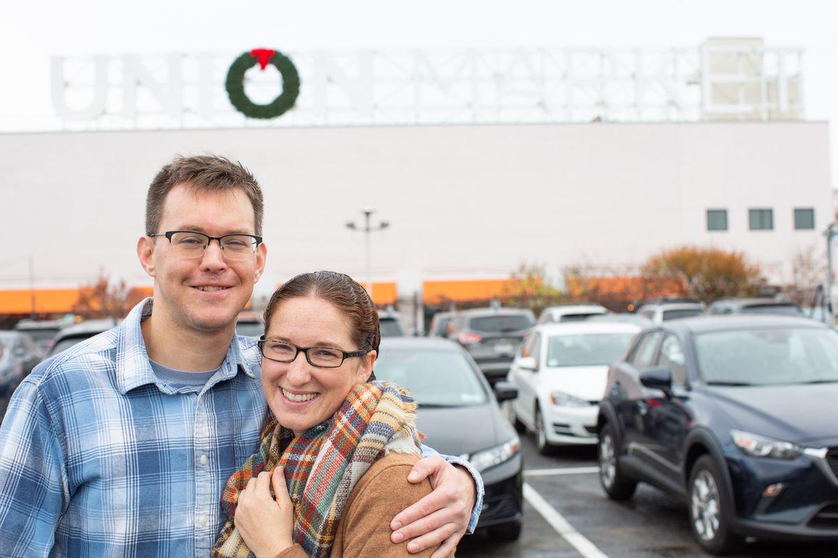 The Creamery At Union Market owners Daniel and Jessica Burdge.