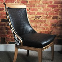 <strong>Third & Grace</strong> custom chair upholstery