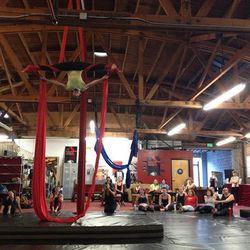 """<b><a href=""""http://www.cirqueschoolla.com/"""">Cirque School LA</a></b> (5640 1/2 Hollywood Blvd) Your childhood dream of running away of the circus just got real, sans the creepy carnies. The same folks behind Reese Witherspoon's and Christoph Waltz' amazin"""