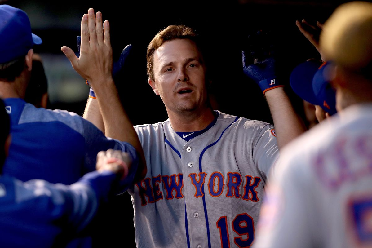 watch cdfe6 a630b Mets dump Jay Bruce for nothing - Beyond the Box Score