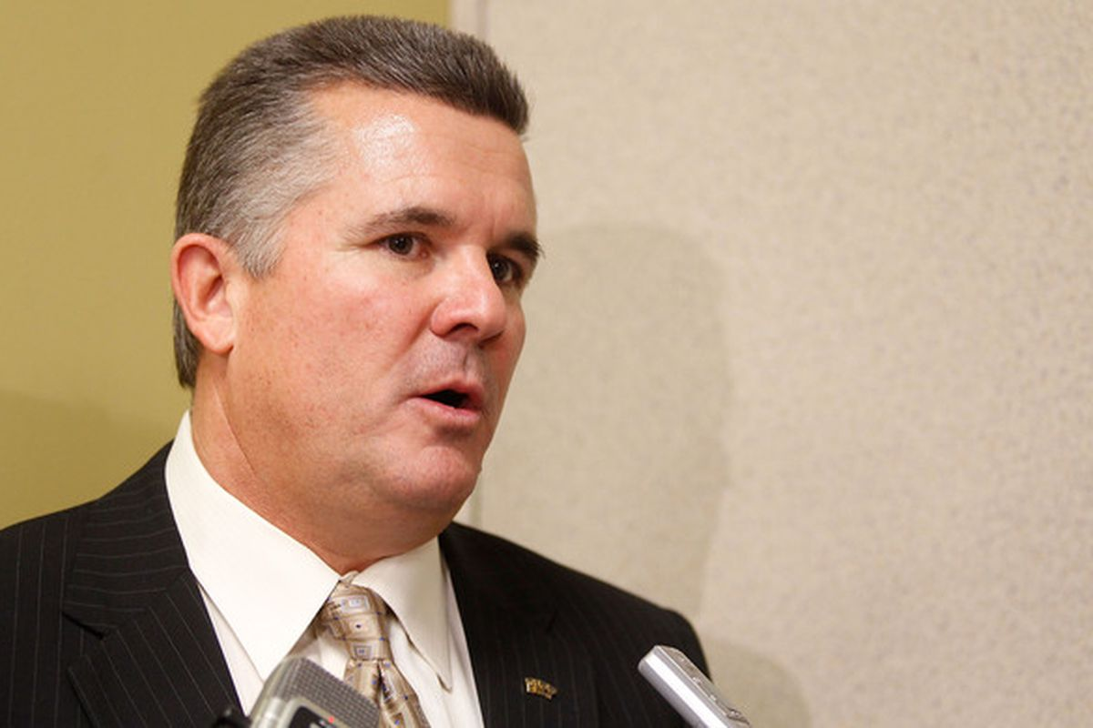 Todd Graham's eyes are on Texas (Photo by Jared Wickerham/Getty Images)