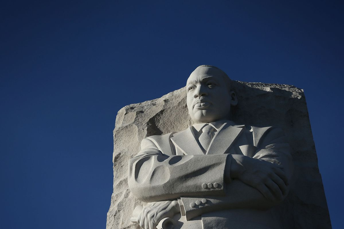 At Georgia State Capitol Mlk Statue Joins Ironic Neighbors Curbed