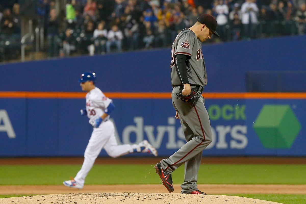 Arizona Diamondbacks v New York Mets