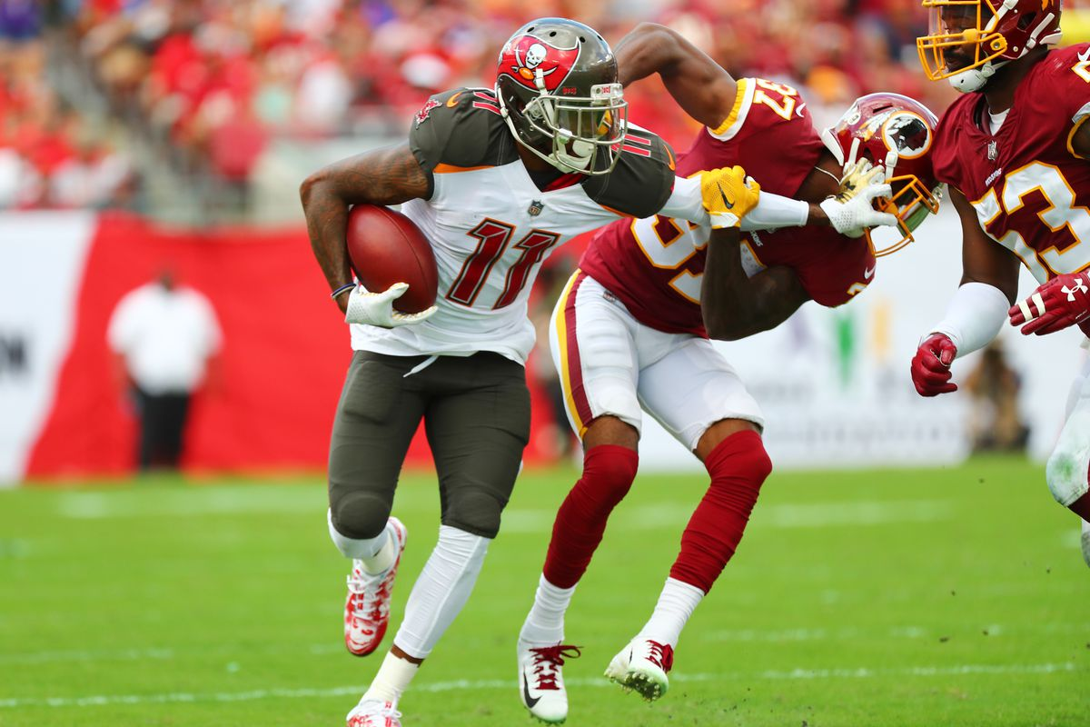 Tampa Bay Buccaneers WR DeSean Jackson says he wants to play with the Los Angeles Rams next year