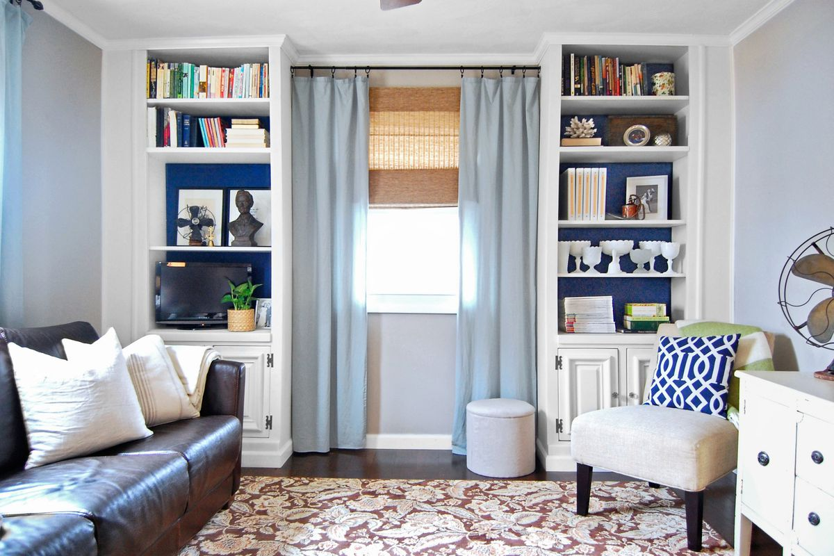 Built-In Book Storage for $197 - This Old House