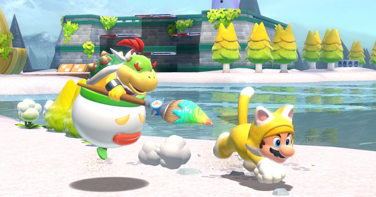 Super Mario 3D World + Bowser's Fury review: the best of Mario - The Verge