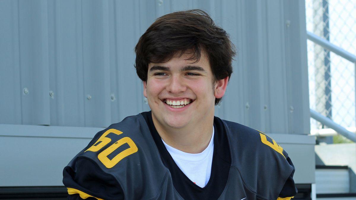 Gay high school football player Jake Streder