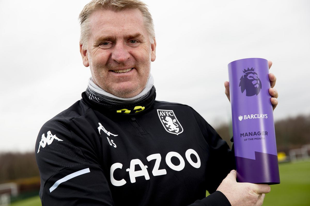 Dean Smith of Aston Villa is Announced as Premier League Manager of the Month for December 2020