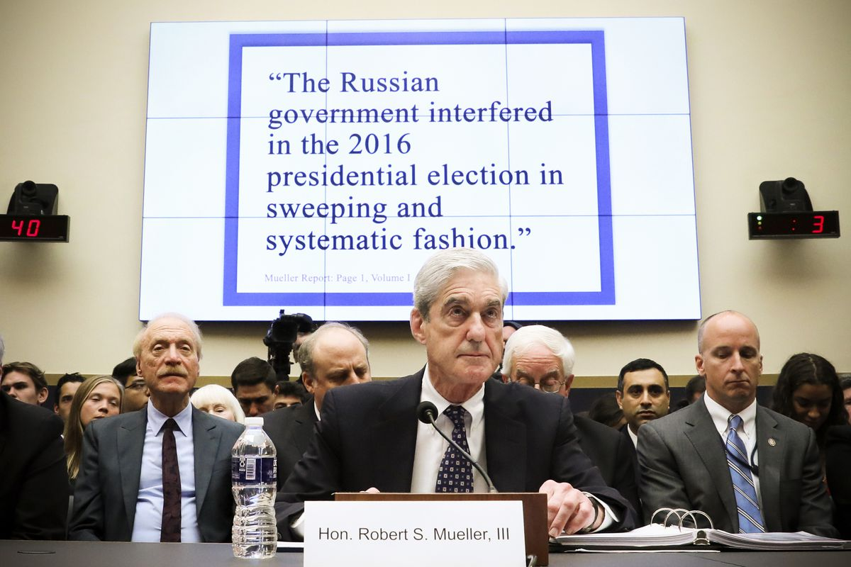 Image result for images of mueller at hearing