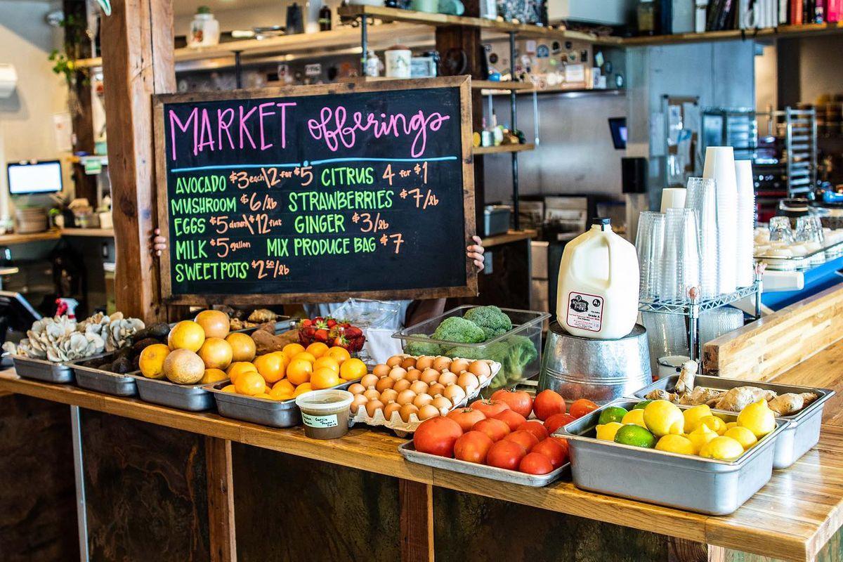 Sour Duck Market's market