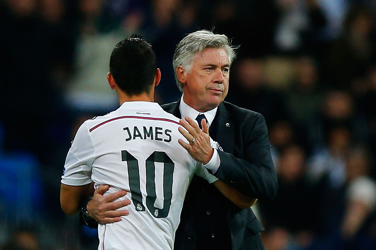 Ancelotti wants to sign James and Bale for Everton -report