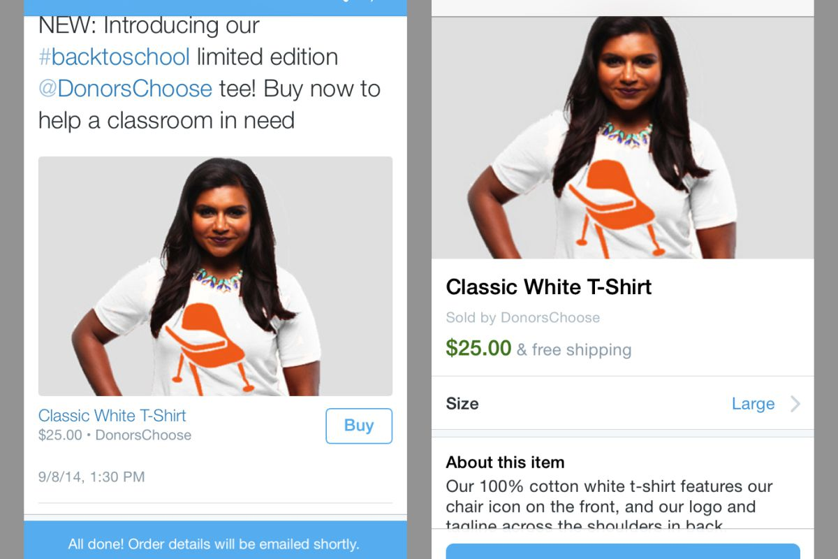 We might buy this t-shirt right now. Because Mindy Kaling. Courtesy image.