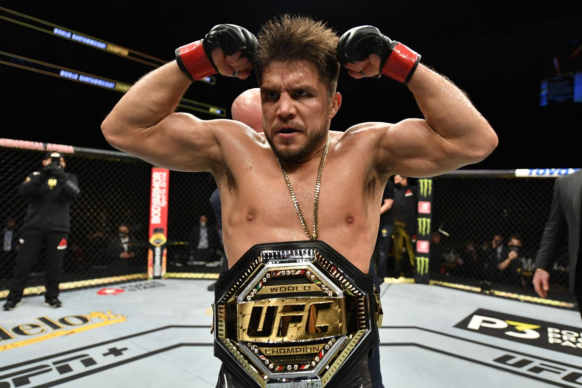 Retired former double-champ Henry Cejudo wants a new challenge in the form of Max Holloway.