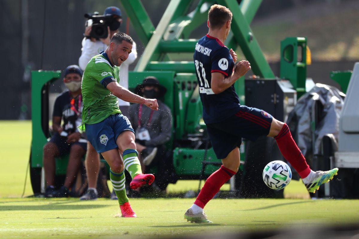 MLS:西雅图海湾FC在芝加哥火焰