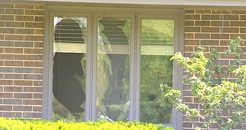 A window sustained damage in an explosion early Wednesday at a home in Northfield. | Network Video Productions