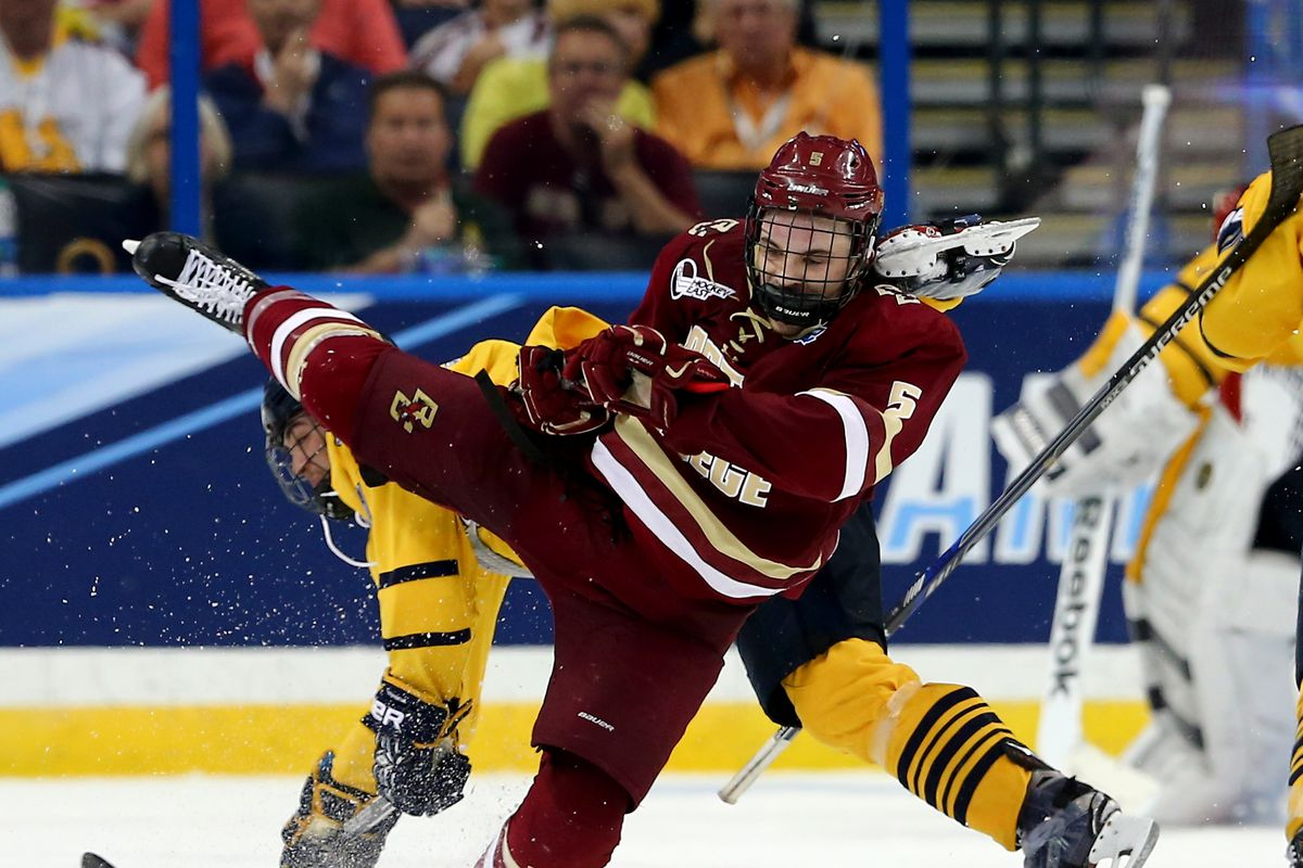 2016 NCAA Division I Men's Hockey Championships - Semifinals