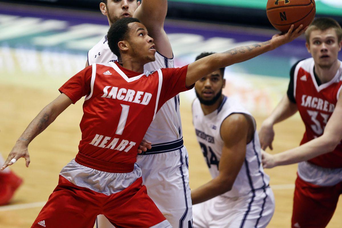 NCAA Basketball: Sacred Heart at Northwestern