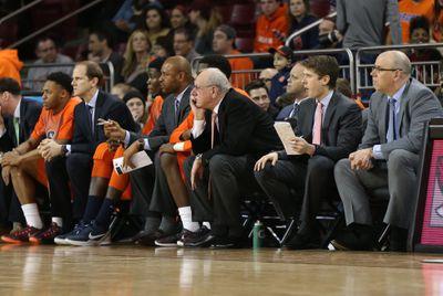 NCAA BASKETBALL: FEB 11 Syracuse at Boston College
