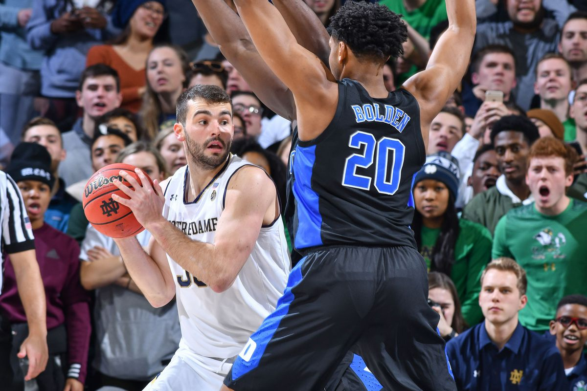 Quick Recap: Notre Dame Men's Basketball Gets Crushed By ...