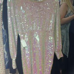 Sequined Collection Dress for $169