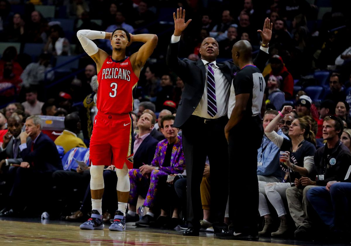 NBA: Denver Nuggets at New Orleans Pelicans