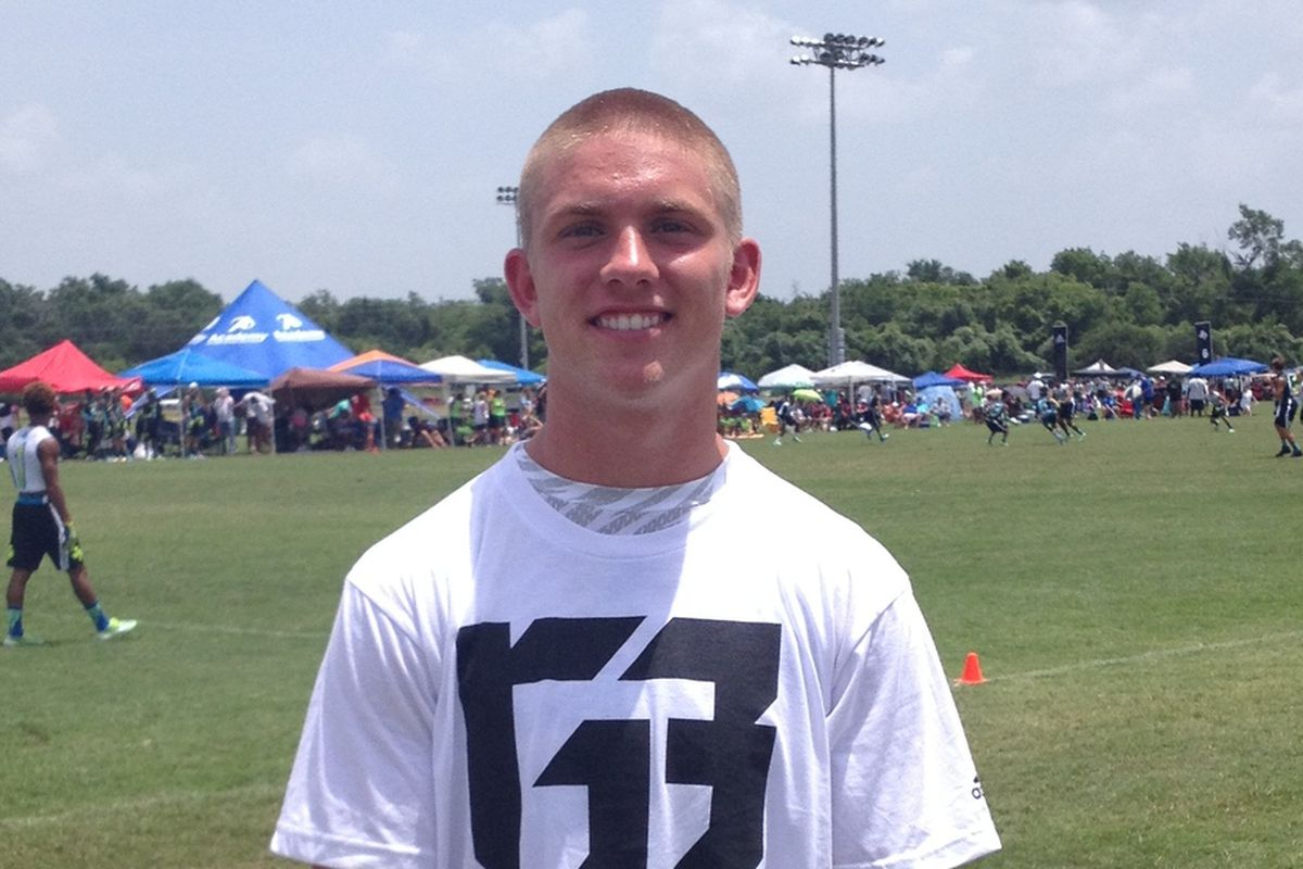 Shane Buechele at Texas State 7-on-7