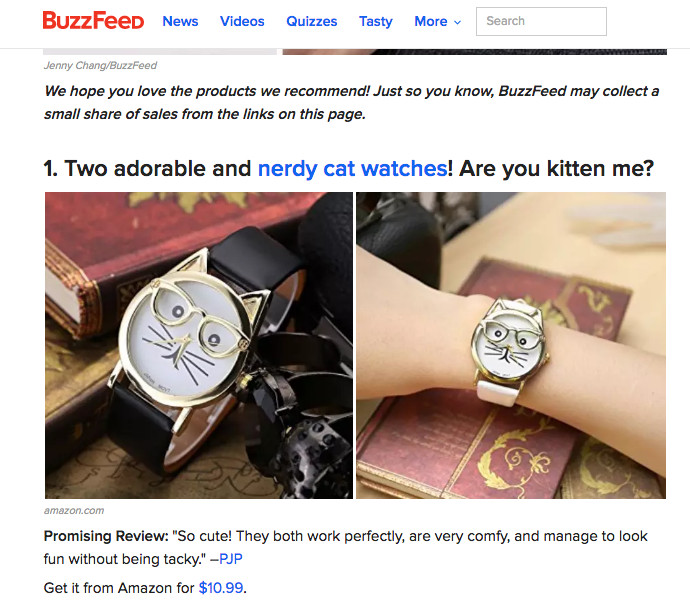 Buzzfeed Is Building A Team Of Writers To Sell You Stuff You Didn T