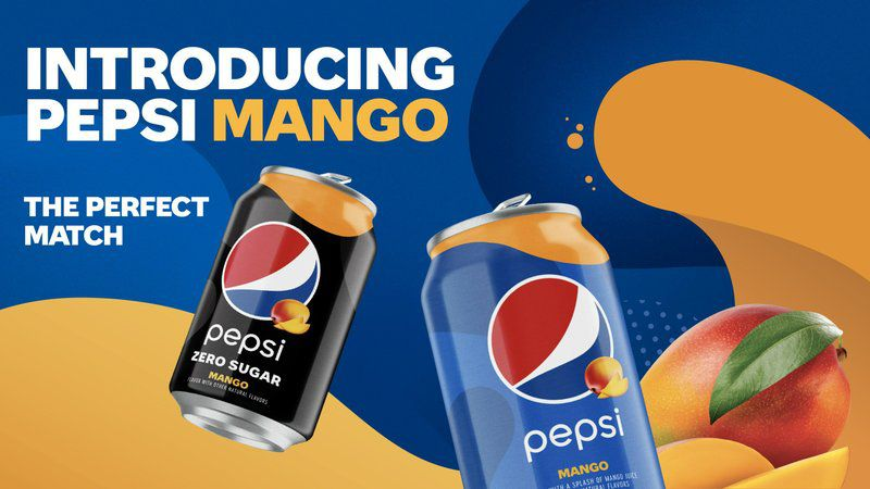 Pepsi Mango is the first new permanent flavored cola in five years from the soda maker.