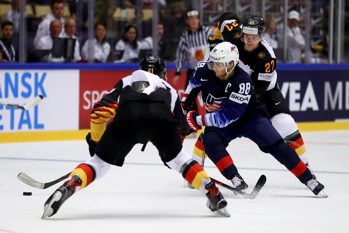 United States v Germany - 2018 IIHF Ice Hockey World Championship
