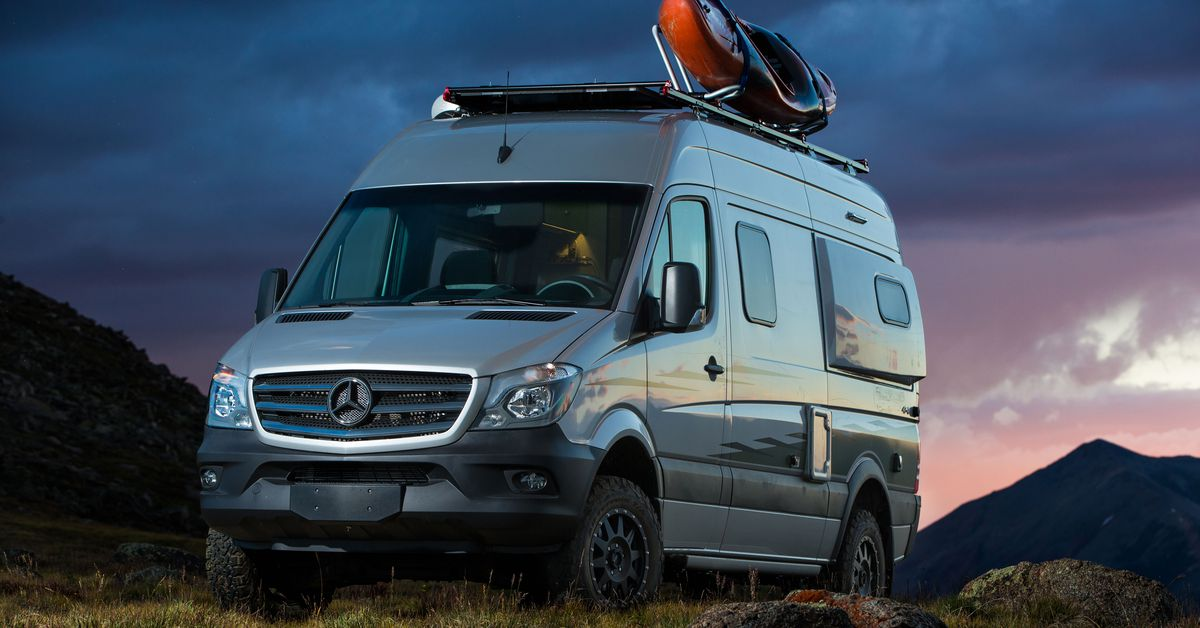 Mercedes Rv Van >> The 6 Best Rvs And Camper Vans You Can Buy Right Now Curbed