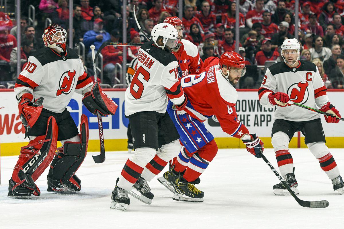 NHL: JAN 16 Devils at Capitals
