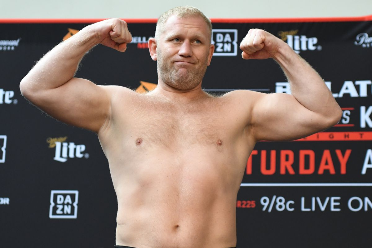 Bellator 225 results: Sergei Kharitonov knocks out Matt Mitrione in the second round