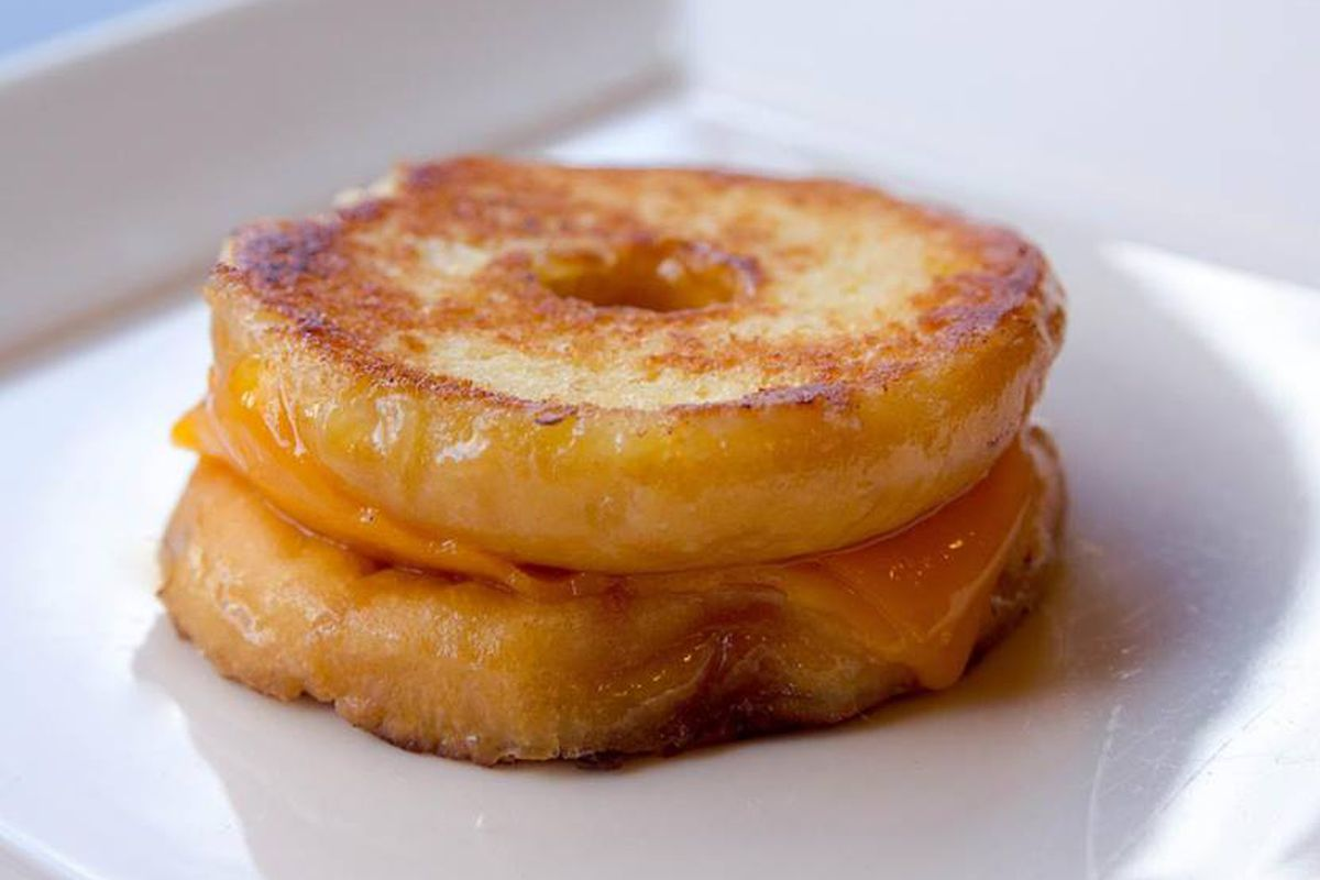 Donut grilled cheese? Sure, why not.