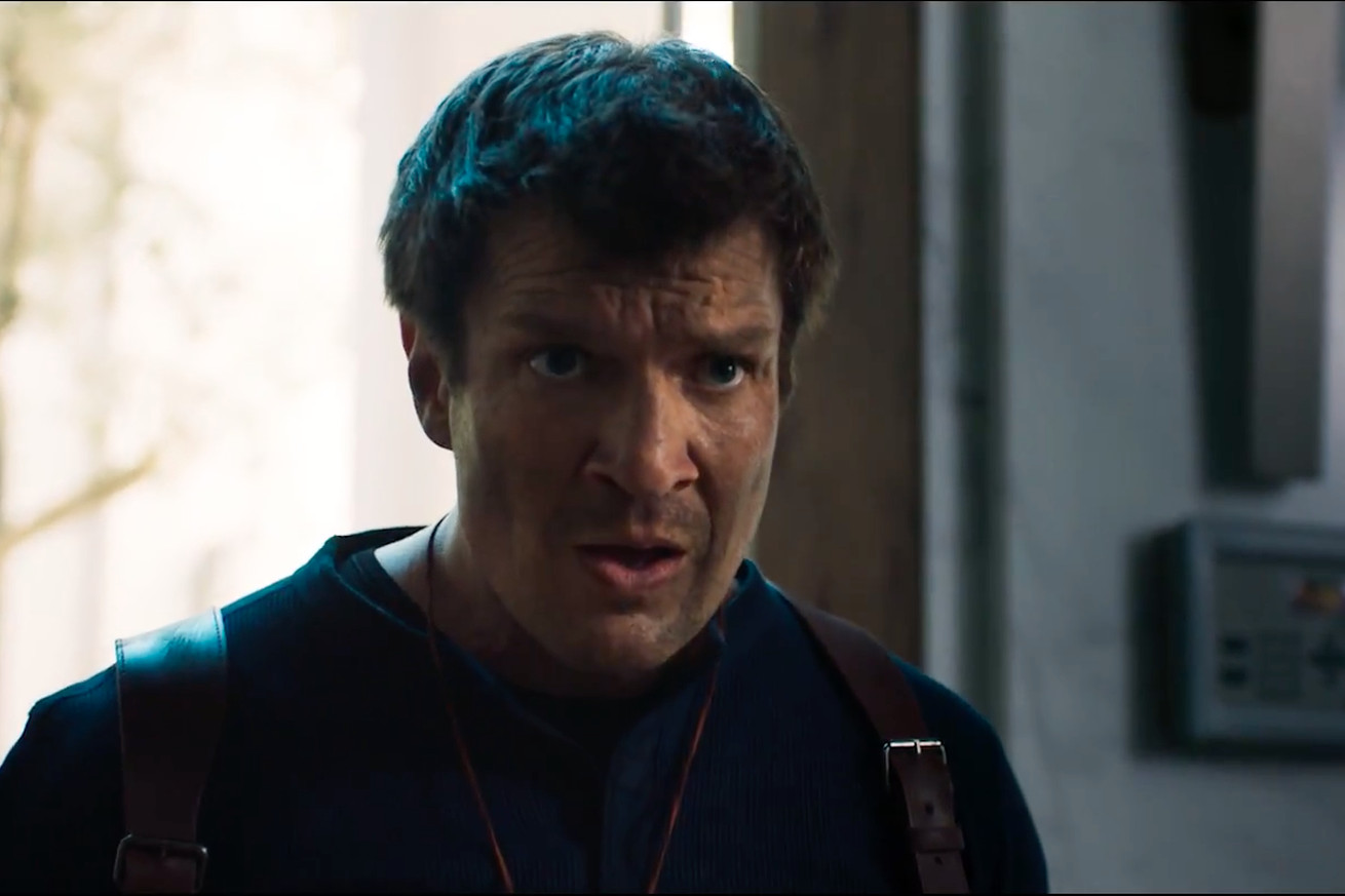 nathan fillion stars as nathan drake in what might be film s only good video game adaptation