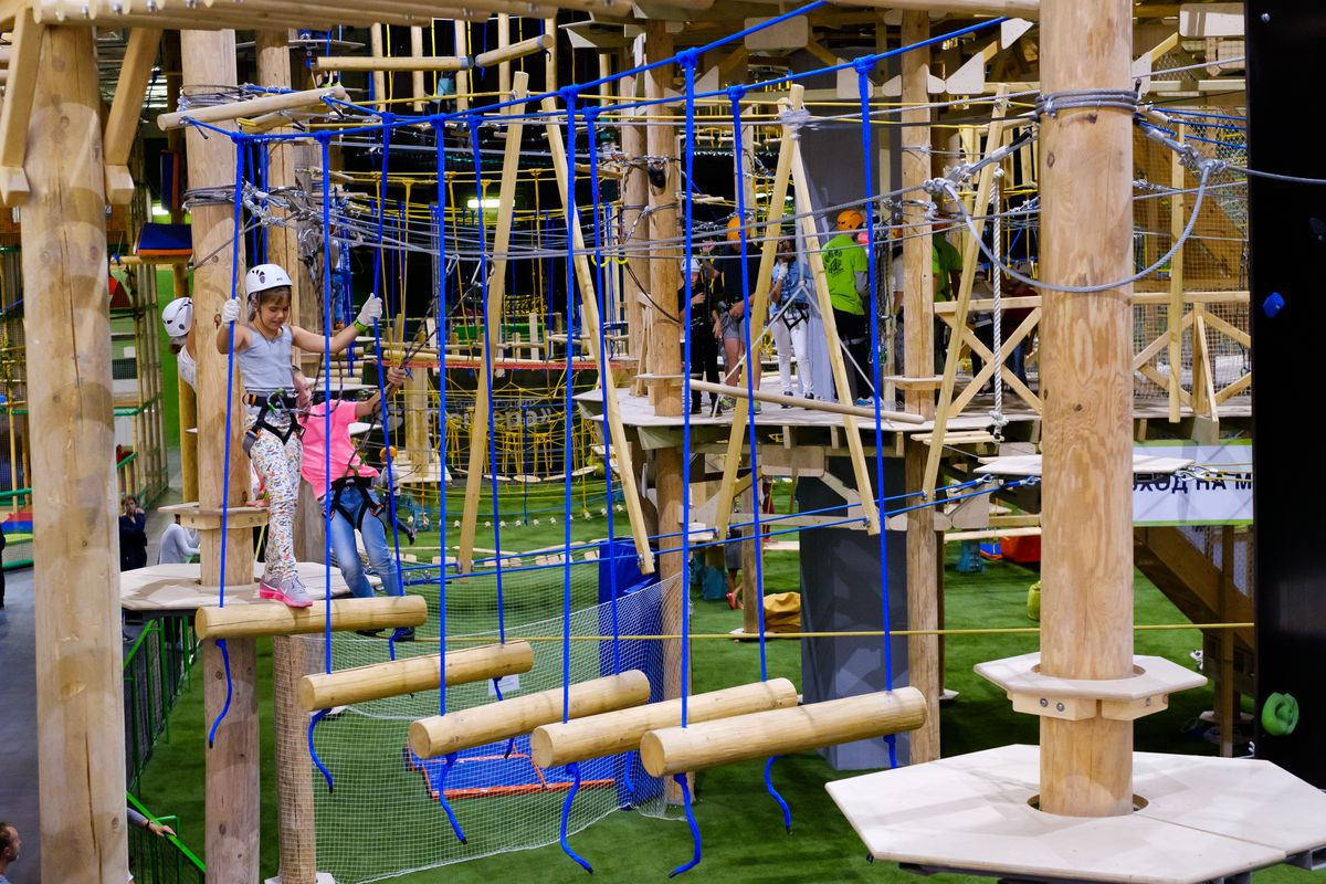 Loudoun County To Host Nation S Largest Indoor Ropes