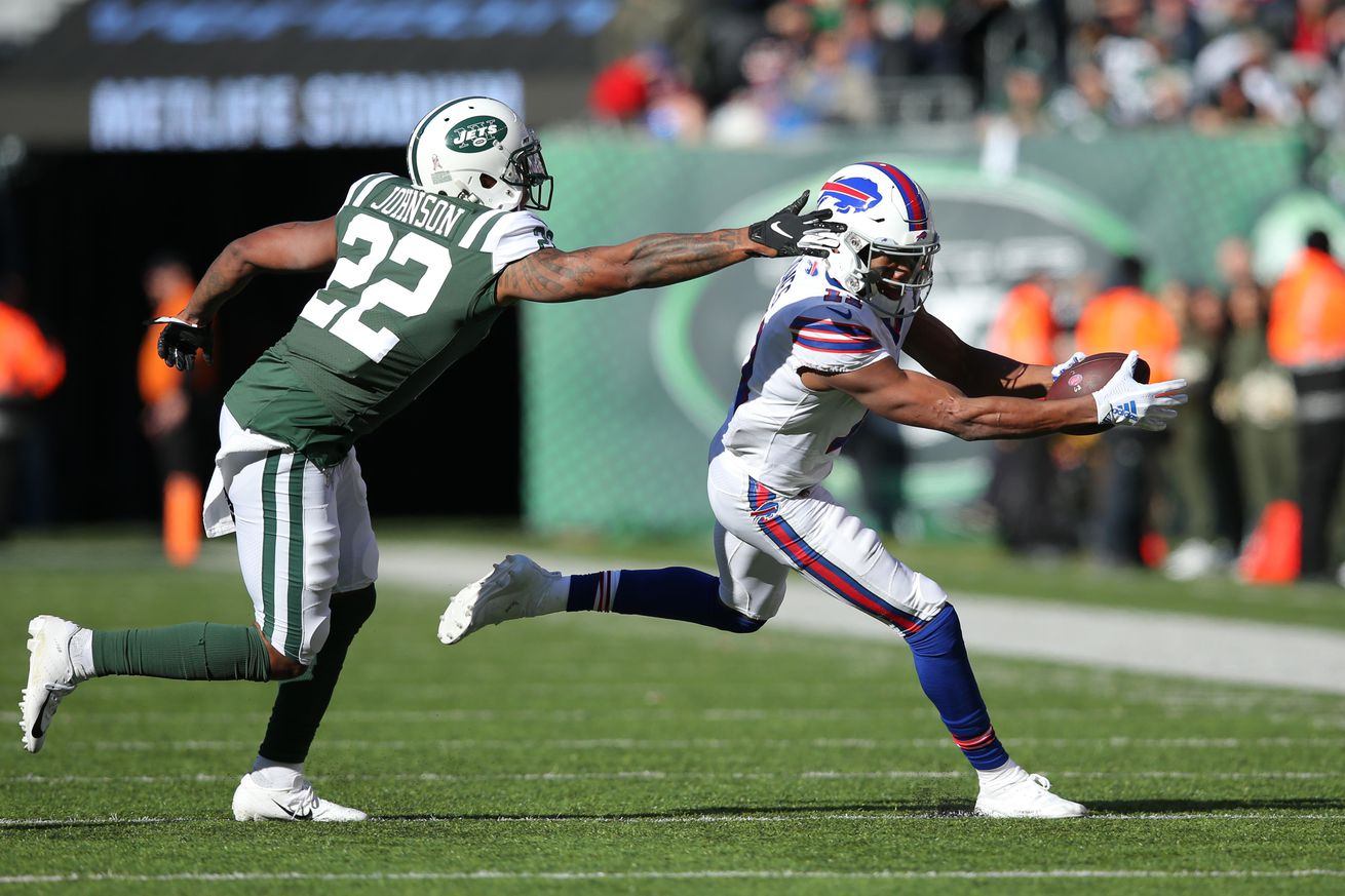 2018 New York Jets Coverage Stats: Week 10