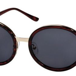 """Metal-Accented Round: <b>Le Specs</b> Wasteland Sunglasses, <a href=""""http://shop.life-curated.com/index.php?product=Wasteland&shop=1&c=3"""">$41.40</a> at Life:Curated"""
