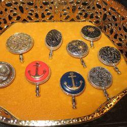 Vintage hat pins, prices vary
