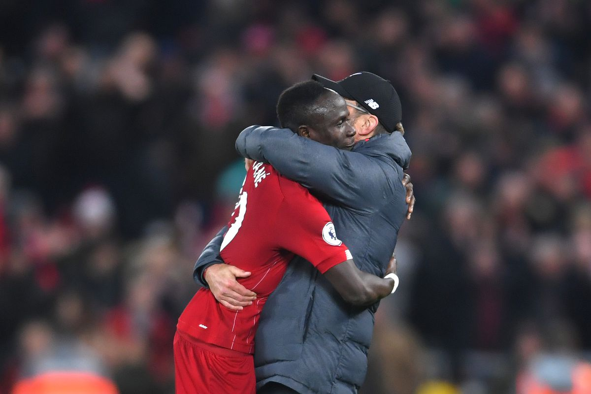 Klopp & Mane Picks Up Premier League Awards For Nov.