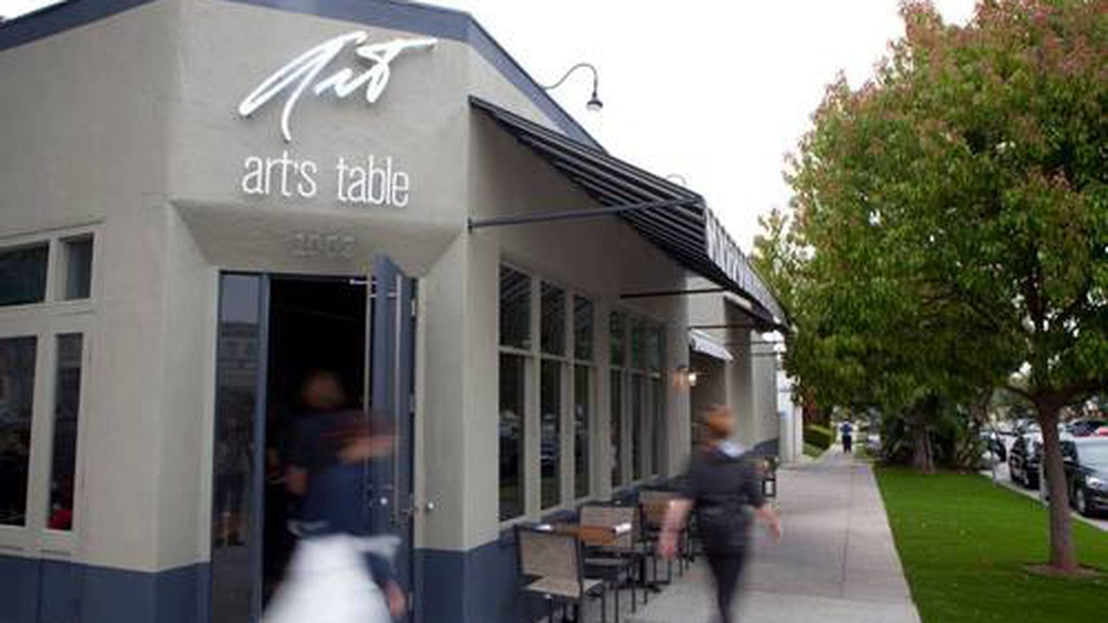 Art S Table Stands In For Babalu On Montana In Samo Eater La