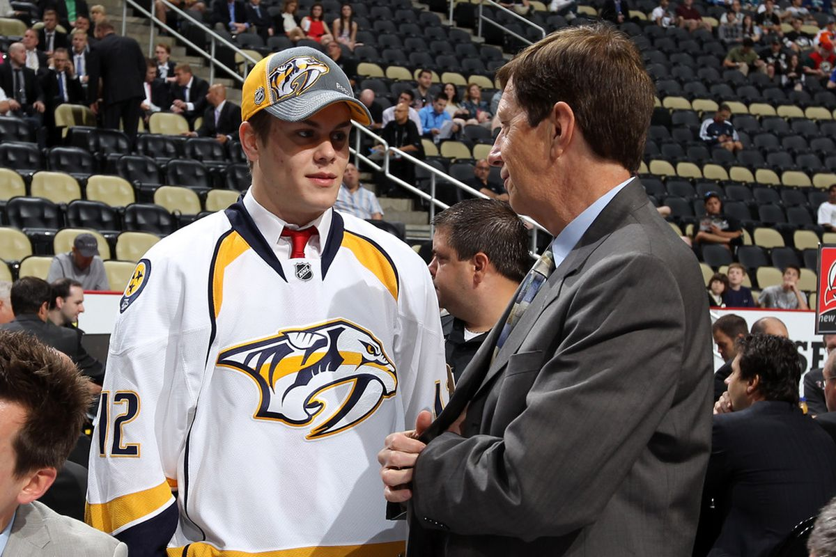 Will David Poile take another Swede with a high draft pick?