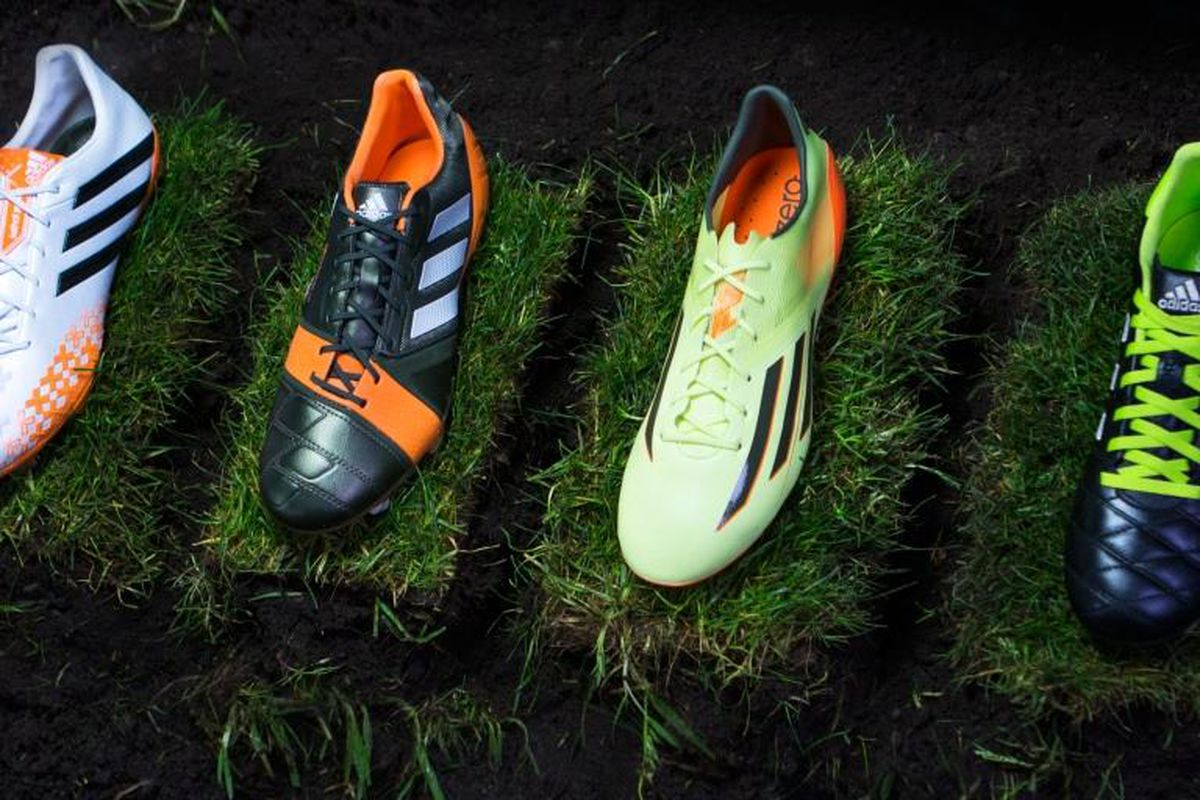 3f806d89a63 Adidas unveil four new boot colorways inspired by Brazilian rainforests