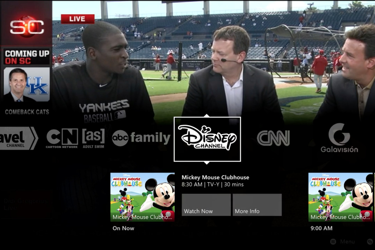 Sling TV launches on Xbox One today, and you can try it free for a