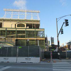 Sun 1/10: southeast corner of the ballpark -