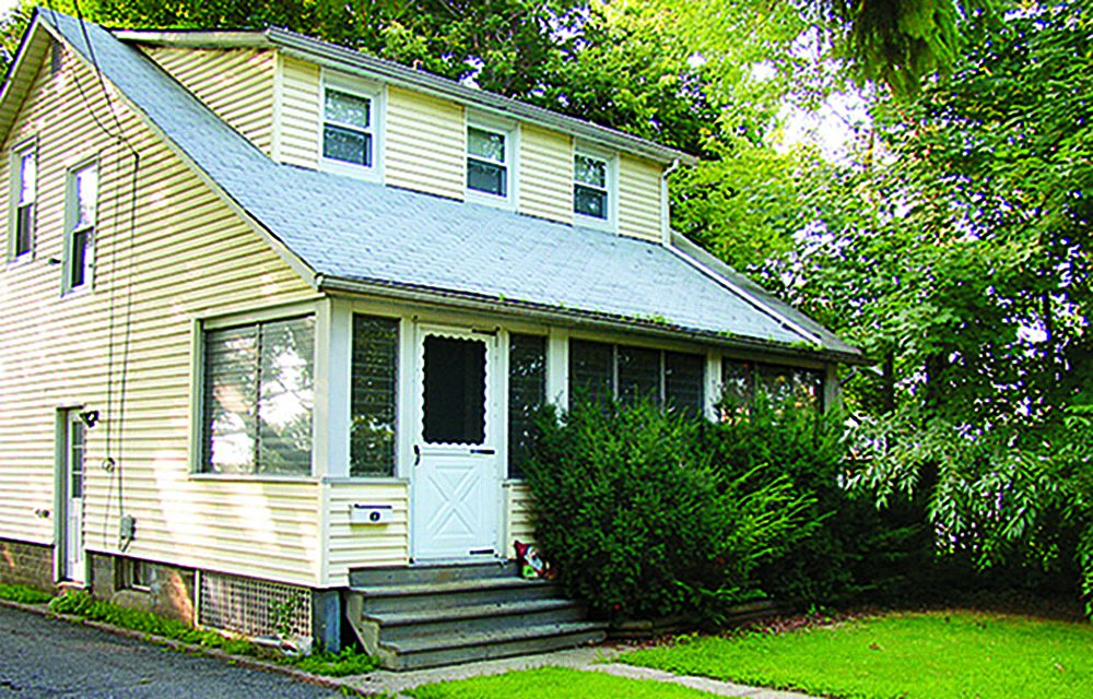 Curb Appeal Before: 1940s Home In Denville, New Jersey