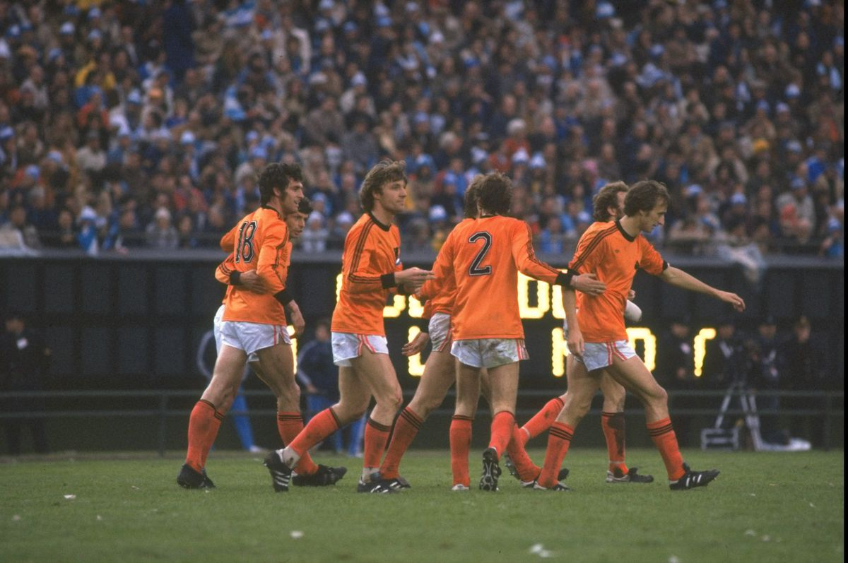 General view of dutch players