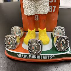 Miami Hurricanes Collectable Bobblehead